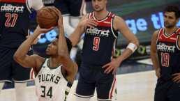 Giannis Antetokounmpo aporta triple-doble en triunfo de Bucks