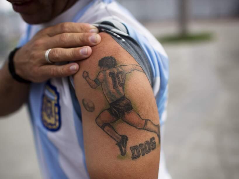 APTOPIX Brazil WCup Soccer Argentina