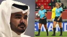 ¡Escándalo! Jeque desprecia a cuerpo arbitral femenil de FIFA