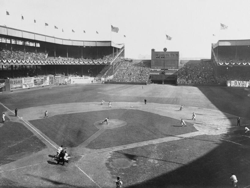 World Series Yankees v Giants 1933