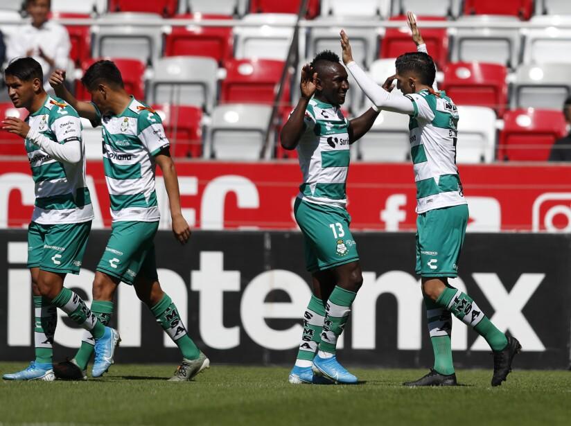 Toluca v Santos Laguna - Torneo Apertura 2019 Liga MX