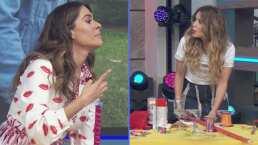 """Galilea Montijo y Andrea Escalona protagonizan divertida pelea por J Balvin: """"No seas la Panini"""""""
