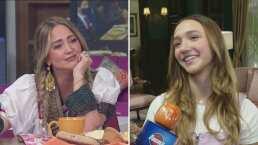 "Andrea Legarreta reacciona al mensaje que le envió Nina Rubín: ""Mi vida son mis niñas"""