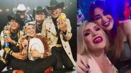 """Gomita y """"Las Perdidas"""" se van de fiesta y cantan un éxito de Grupo Firme"""