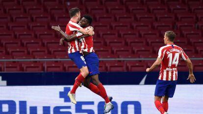 El Atlético de Madrid camina tranquilamente al triunfo en en Wanda Metropolitano frente al Deportivo Alavés.