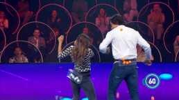 Así es como Michelle Renaud y Danilo Carrera 'mueven la colita' en  Minuto Para Ganar VIP