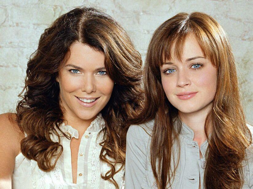 4. Gilmore Girls: Siete temporadas (2000 a 2007). Historia de una jovencita y su moderna madre soltera, en Connecticut.