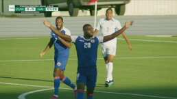 ¡Haití no lo puede creer! Le anulan gol por fuera de juego