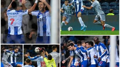 Porto 1-0 CD Aves. Iván Marcano hizo el gol del triunfo para los locales que siguen segundos con 25 puntos.