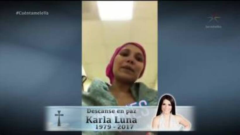El último adiós a Karla Luna