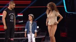 Azul le rompe el corazón a Maluma en La Voz Kids