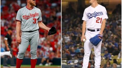Tremendo duelo de pitcheo en el Juego 5 de la Serie Divisional entre los Nationals y los Dodgers.