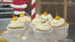 'CUPCAKES CON NUEZ DE MACADAMIA': Prepara esta deliciosa receta para Nochebuena