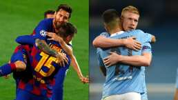 Messi, fuera del once ideal de la Champions