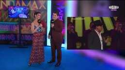 Alfredo Olivas se emocionó al desfilar nuevamente por una alfombra de Bandamax