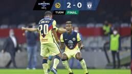 Resumen | América le pasa por encima 2-0 a Pachuca