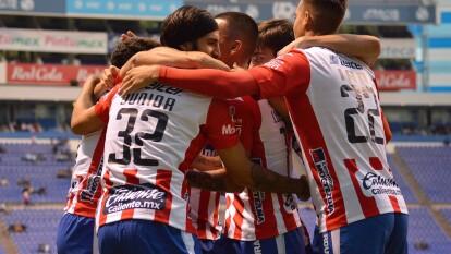 Gustavo Matosas arrancó su proyecto en San Luis con buen pie tras conquistar el Estadio Cuauhtémoc gracias a los goles de Ibáñez, Benítez y Berterame. Arriola descontó para La Franja pero no fue suficiente para remontar.