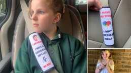 Estas fundas para cinturón de seguridad ayudarán a niños con discapacidad