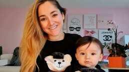 Sherlyn presume que su bebé, André, ya comenzó a gatear: 'Él ya alcanza sus cosas'