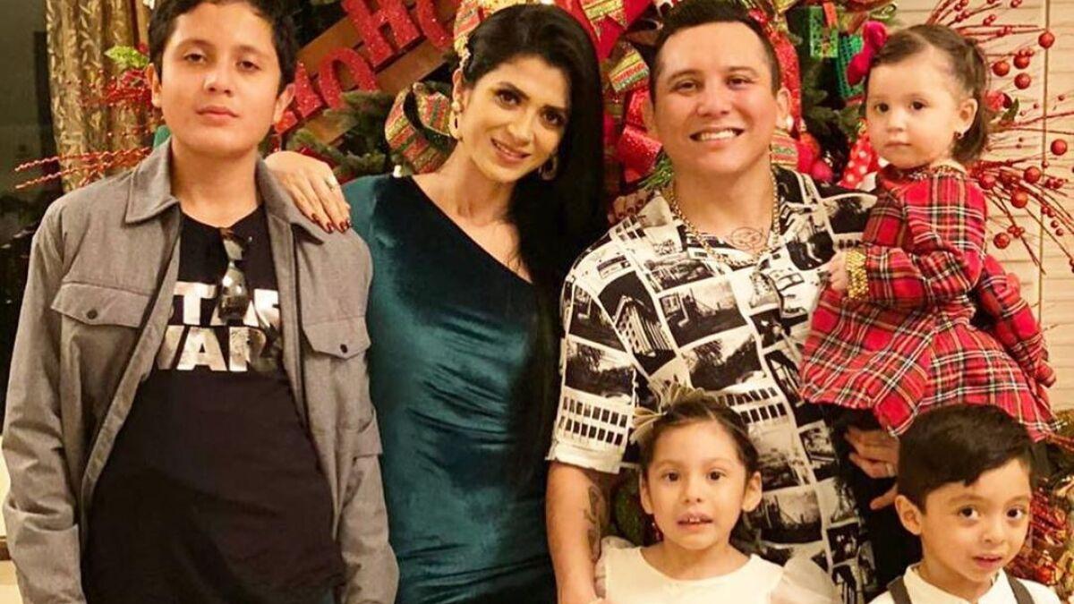 Kimberly Flores, esposa de Edwin Luna, celebra el cumpleaños 14 de su hijo mayor con tremenda fiesta