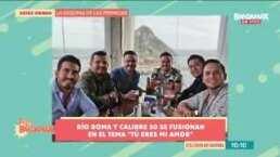 Río Roma y Calibre 50 se fusionan en el tema 'Tú Eres Mi Amor'