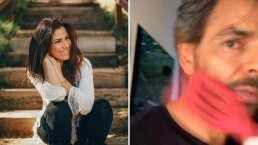 Video: Alessandra Rosaldo le da un fuerte golpe en la cara a Eugenio Derbez ¡con una espátula!