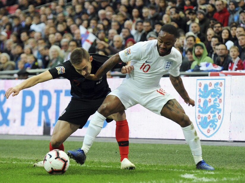 England Croatia Nations League Soccer