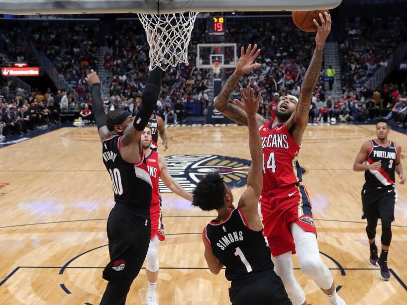 El primer juego del veterano de 35 años con los de Portland y todos los resultados de la NBA del 19 de noviembre de 2019.