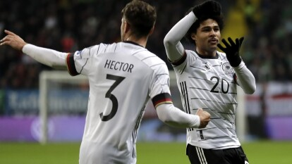 Alemania vence a Irlanda del Norte por 6 goles a uno. Serge Gnabry se luce con un hat-trick en la última fecha de la Euro 2020.