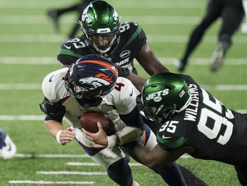 Broncos Jets Football