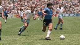 ¡Lujazo! Sacan toma nunca antes vista del golazo de Maradona en el 86