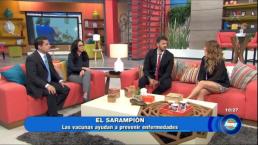 Cuida a tu familia del Sarampión