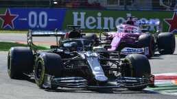 Hamilton ganó en Italia y Sergio Pérez estuvo cerca del podio