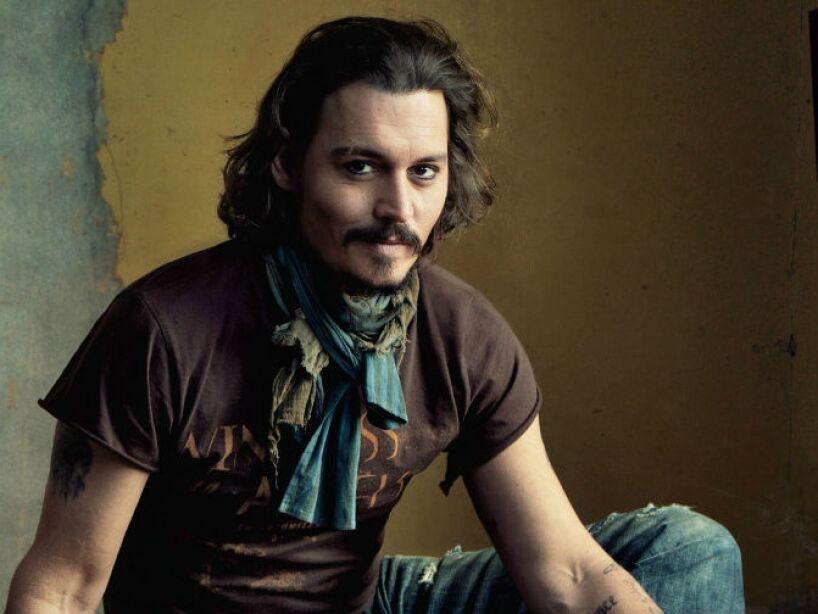 3. Johnny Depp: Pasó una infancia de carencias económicas, aquella época lo dejó marcado.