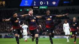 Leipzig derrota al Tottenham y se lleva un gran botín de Londres