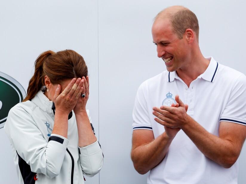 La Princesa Charlotte puso en aprietos a Kate Middleton y así reaccionó la duquesa