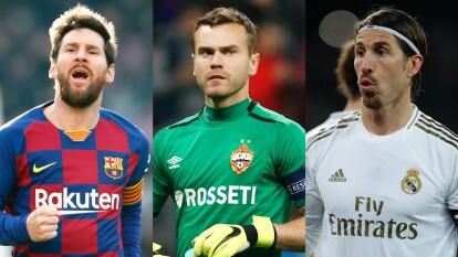 Estos jugadores son los más fieles del mundo, sería muy extraño verlos usar otras camisetas.