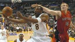 Kobe Bryant vivió su noche más inspirada ante los Toronto Raptors