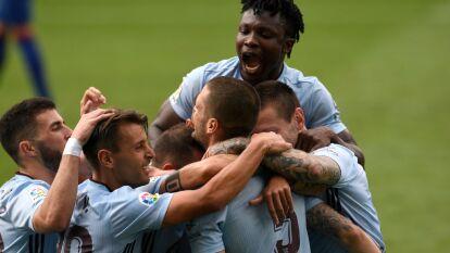 Con gol de Iago aspas al minuto 88, el celta de Vigo le empata al Barcelona y le da una oportunidad al Real Madrid para despegarse del Barcelona.
