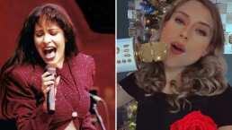 Natalia Juárez demuestra que también es buena para la cantada y lo hace al ritmo de Selena Quintanilla