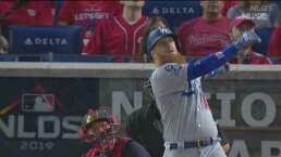 Justin Turner sigue desatado y pegan primero los Dodgers