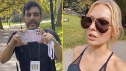 Irina Baeva tuvo un altercado con un paparazzi en Nueva York