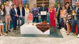 ¡'Hoy' sigue de fiesta!: el programa recibe un reconocimiento del Paseo de la Fama de Las Vegas