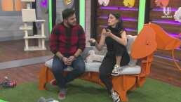 Bárbara López comparte la manera en la que educa a su mascota, Lana