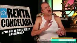 ¿Por qué Federico le dice Wally a Fernando?