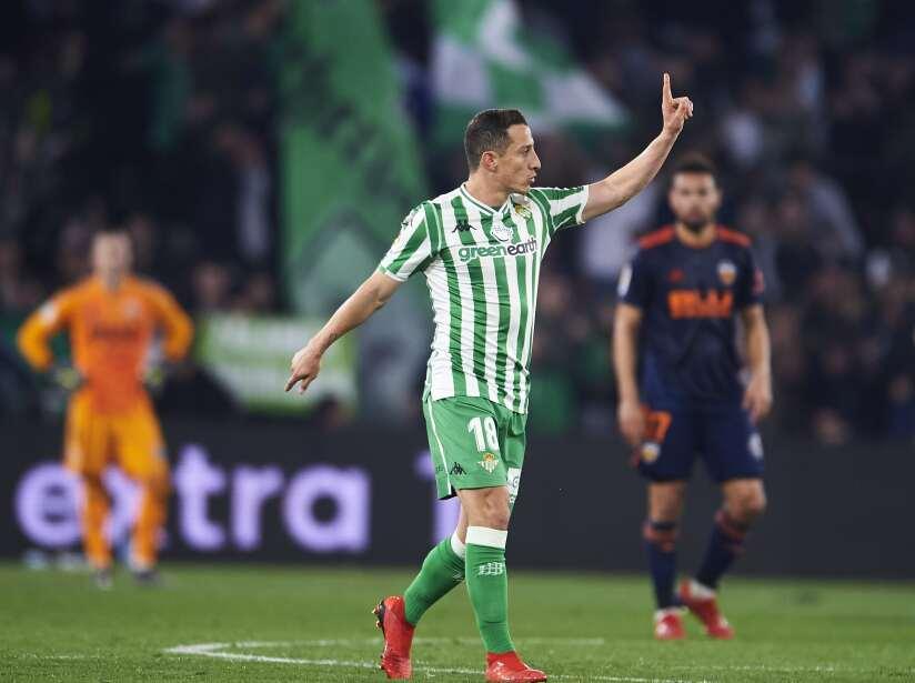 Real Betis Balompie v Valencia - Copa del Rey Semi Final