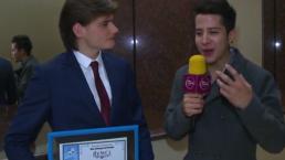 ¡Alex de Hoyos gana como Mejor actor juvenil en los Premios Bravo!