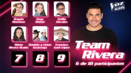 Ellos son los nuevos integrantes del Team Rivera