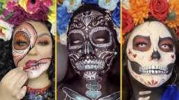 4 estilos diferentes para que te maquilles de Catrina este Día de Muertos
