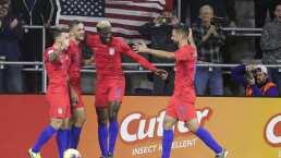 Estados Unidos aplastó a Canadá y sigue con vida en la Nations League